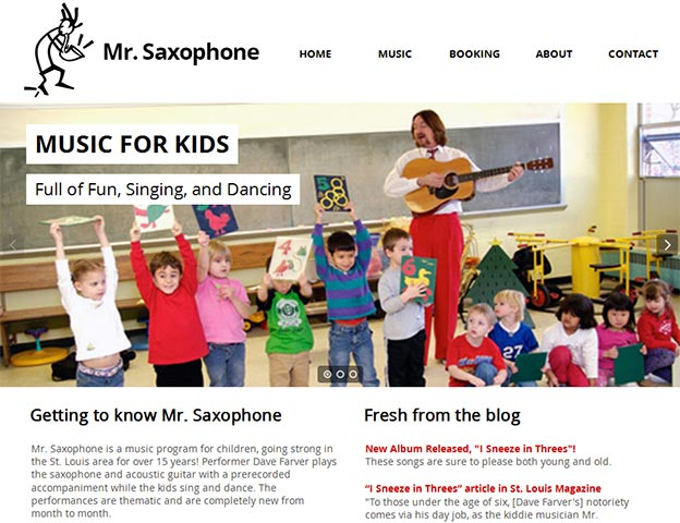 Mr. Saxophone
